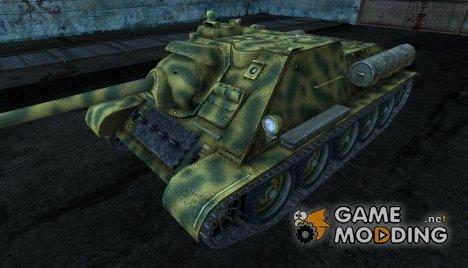 Шкурка для СУ-85 для World of Tanks