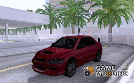 Mitsubishi Lancer Evo IX MR для GTA San Andreas