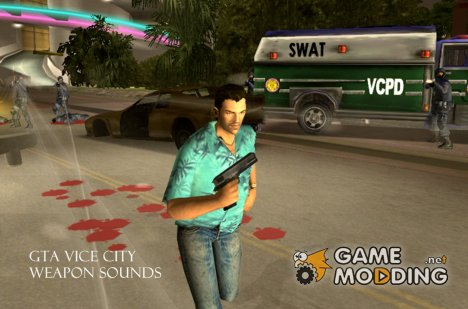 GTA Vice City Weapon Sounds для GTA San Andreas
