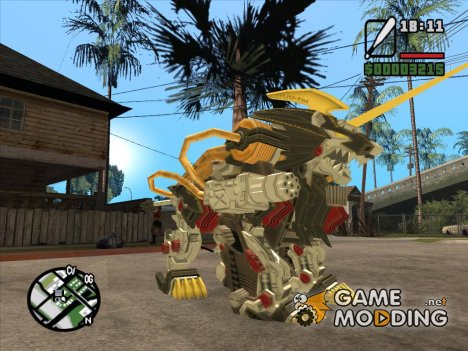 Energy Liger (Zoids) for GTA San Andreas