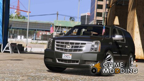 2012 Cadillac Escalade ESV for GTA 5