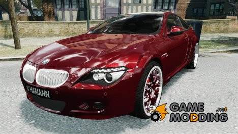 Hamann BMW 6-Series Widebody v2.0 для GTA 4