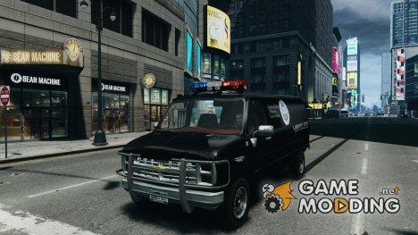 Chevrolet G20 Police Van for GTA 4