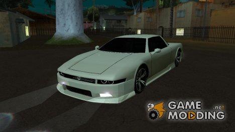 Infernus BMW Revolution Без спойлера но с номерным знаком для GTA San Andreas