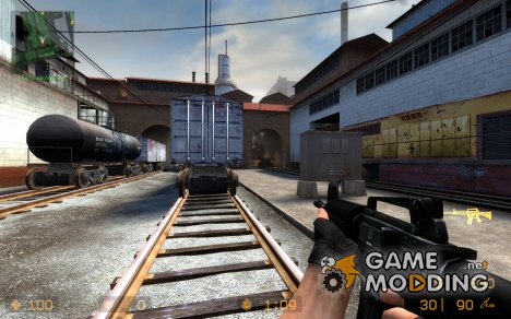 M4A1 Improved для Counter-Strike Source