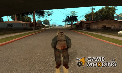 Инопланетный бандит for GTA San Andreas