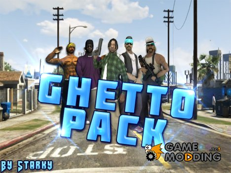 GhettoPack for GTA San Andreas
