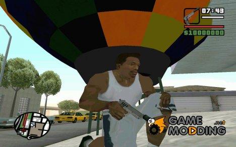 Пак оружия by foxman12 v.2 for GTA San Andreas