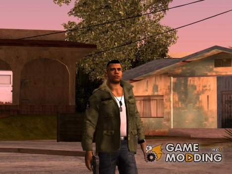 Lincoln Clay Mafia 3 для GTA San Andreas