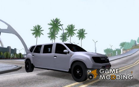 Dacia Duster Limo for GTA San Andreas