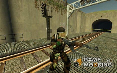 Woodland Gign (SAS) for Counter-Strike Source