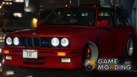 1991 BMW M3 E30 for GTA 5