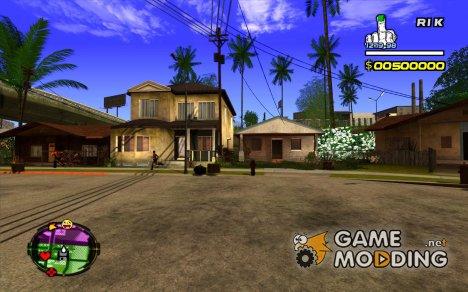 Hud от R1k для GTA San Andreas