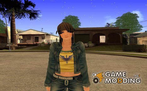 Hitomi from Dead or Alive 5 v1 Vol. 3 for GTA San Andreas