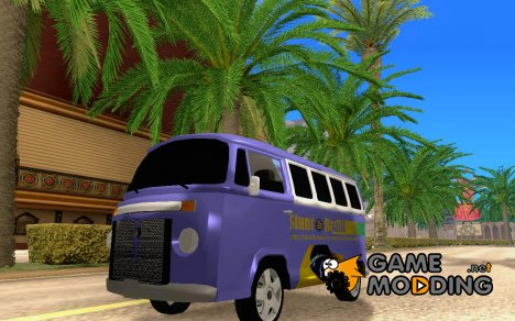 Coordenadas - VW Komby Stunt Brasil для GTA San Andreas