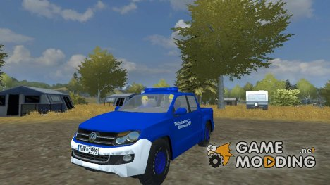 Volkswagen Amarok THW для Farming Simulator 2013