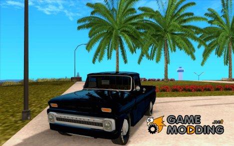 Chevrolet C10 1966 Slamvan Pickup Truck для GTA San Andreas