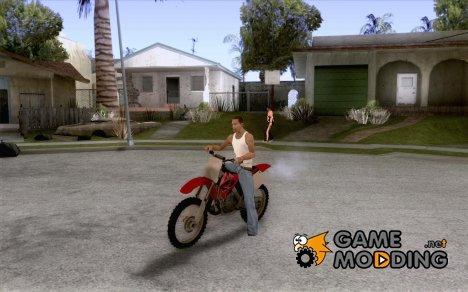 Honda CR125 для GTA San Andreas