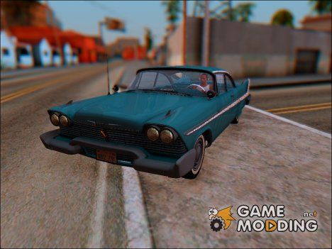 1958 Plymouth Belvedere for GTA San Andreas