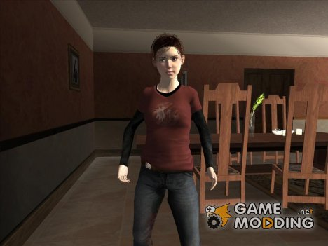 Ellie from The Last of Us для GTA San Andreas