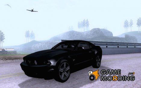 Ford Mustang GT 2011 Unmarked для GTA San Andreas