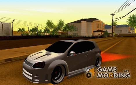 Volkswagen Golf GTI Tuning для GTA San Andreas