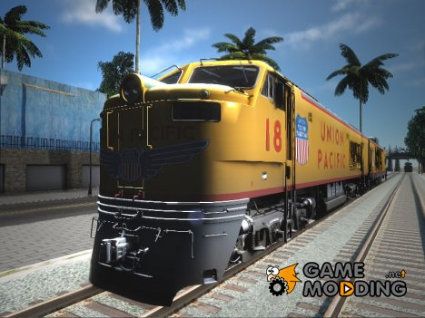 Union Pacific 8500 HP Gas Turbine Electric Locomotive for GTA San Andreas