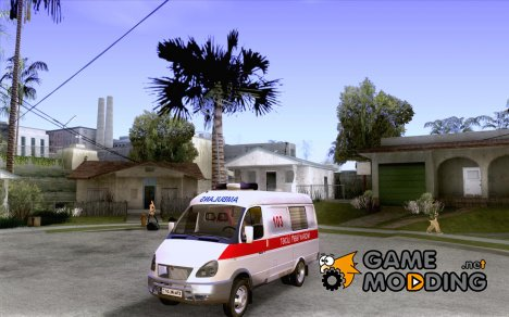 ГАЗель 2705 BAKU AMBULANS for GTA San Andreas