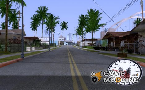 Спидометр Неудержимые for GTA San Andreas
