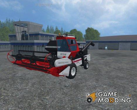 Нива СК5 Ростсельмаш для Farming Simulator 2015