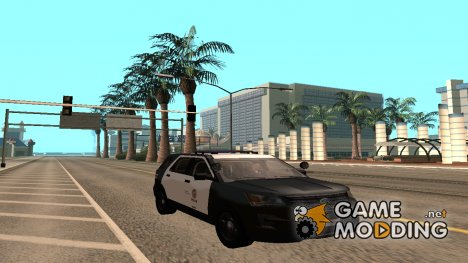 Ford Explorer Police Interception для GTA San Andreas