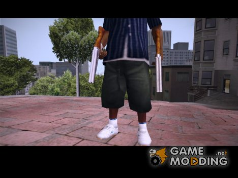 Sawn-off woody chrome для GTA San Andreas