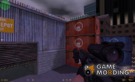 M4 Aimable on DMG anims (CoD4 Style) для Counter-Strike 1.6