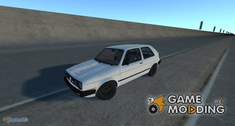 Volkswagen Golf Mk2 GTI 1987 for BeamNG.Drive