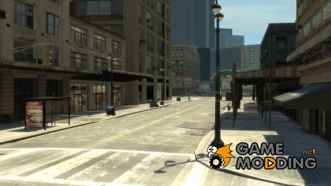 Пустой город for GTA 4