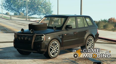 Range Rover Sport Military for GTA 5