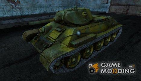 T-34 4 для World of Tanks