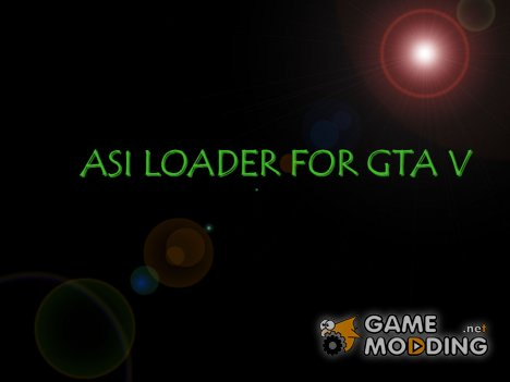 Asi Loader for GTA 5