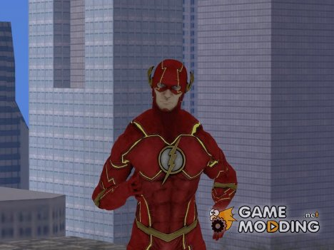 Flash New 52 Edited from Injustice God Among Us для GTA San Andreas