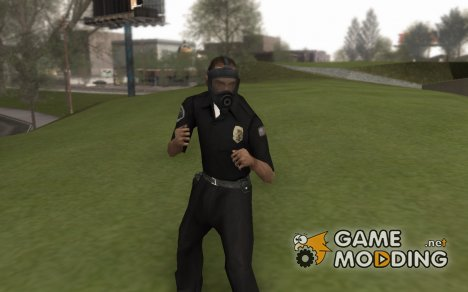GTA 5 Gasmask for GTA San Andreas