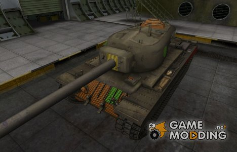 Зона пробития T34 for World of Tanks