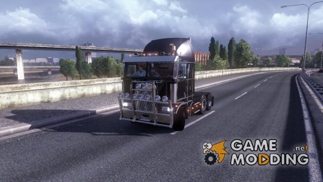 Kenworth K-100 Truck v 2.0 for Euro Truck Simulator 2