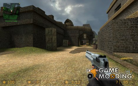 Default Deagle With Quads Animations для Counter-Strike Source