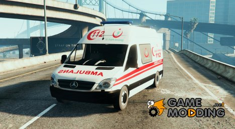 Mercedes Sprinter Turkish Ambulance для GTA 5