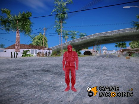 Red Solider from Army Men Serges Heroes 2 (DC) for GTA San Andreas