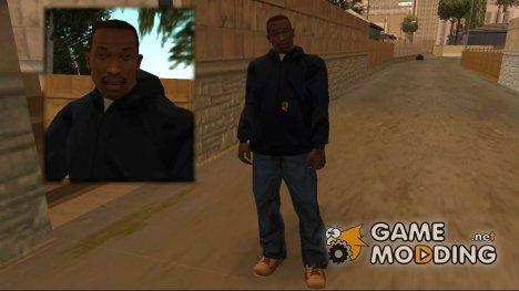 Лицо CJ'я и одежда из бета-версии for GTA San Andreas