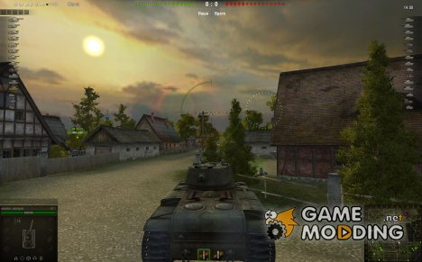 Мод мини-карта для WoT for World of Tanks