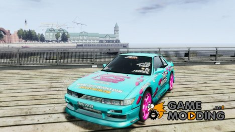 Nissan Silvia S13 Drift Works for GTA 4