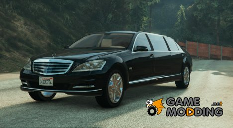 2011 Mercedes-Benz S600 Guard Pullman 1.1 для GTA 5