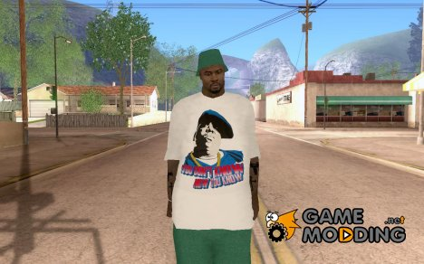Green Big Thug Gangsta для GTA San Andreas